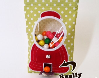 """PDF Sewing Pattern:  """"Goody, Goody Gumballs!"""" Treat Bags - cozy nest design"""