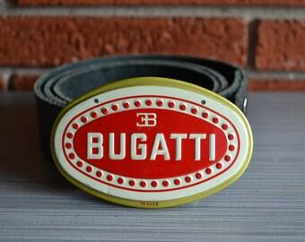 Bugatti Car Emblem Belt Buckle