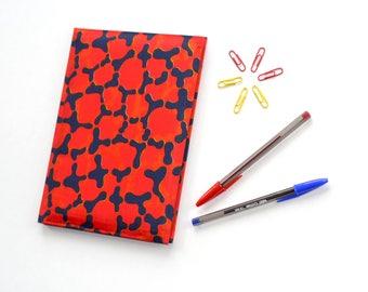 Red Hive // Ankara Notebook // African Print