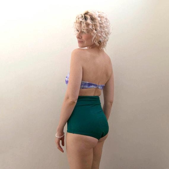 Emerald high waisted bottom