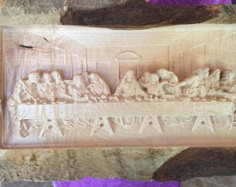 The Last Supper Carving