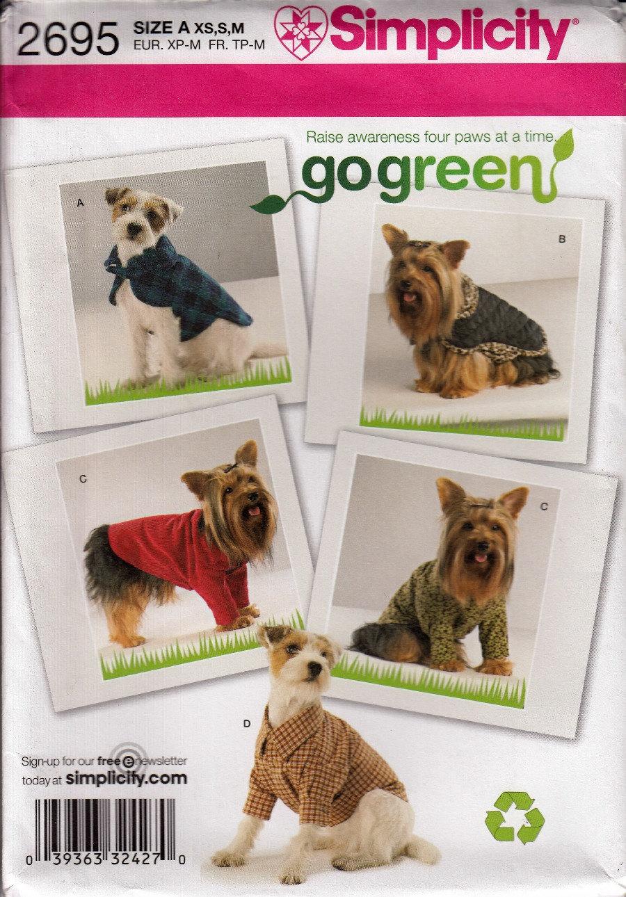 Lujoso Sewing Patterns For Dog Coats Free Elaboración - Manta de ...