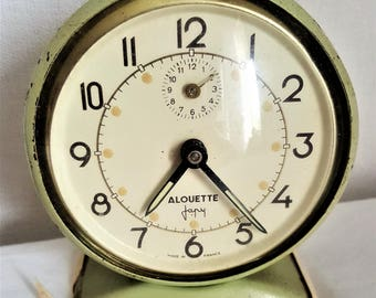 Vintage Alarm Clock JAPY Made in France