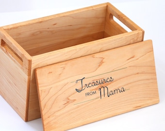 Treasure Box -- Keepsake Box