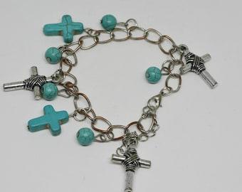 Charming south western style charm bracelet
