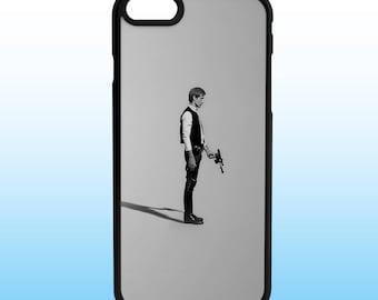 Han Solo Star Wars Custom Iphone Case, Iphone 5, 6, 7, 8, X Plus
