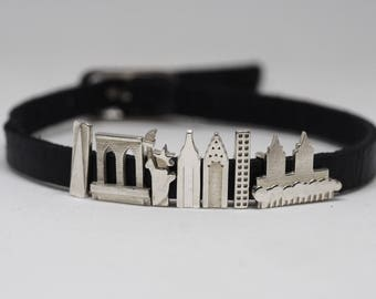 New York Charms CityMania - Statement Bracelet - Charms for Bracelet - Anniversary Gift For Her