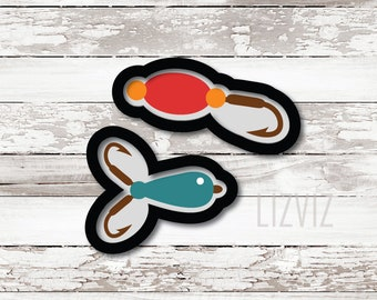 Fishing Lure Cookie Cutter
