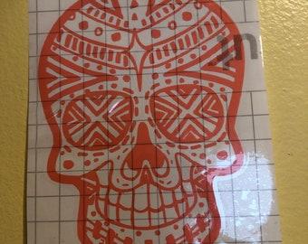 Sugar Skull Decal