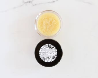 Organic Lip Scrub - Natural Lip Scrub - Lip Polish - Sugar Scrub - Bridesmaid - Gift - Organic Skincare - Natural Skincare