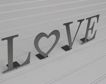 Metal Sign: Love Letters
