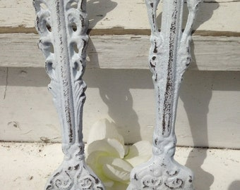 ON SALE, SPRING Sale Cast Iron Fork and Spoon, Shabby Chic Cast Iron