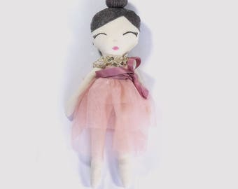 Maisie Cloth Doll in Pink Fairy Outfit