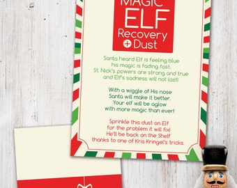 Magic Elf Recovery Dust Digital Printable
