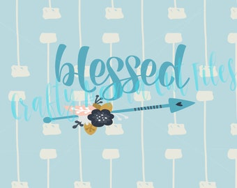 Blessed Digital Instant Download, Farmhouse Style, Inspirational Quote, God's Blessings, Kids Are A Blessing, Blessed Life, Thankful
