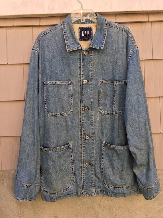 Vintage 90's Gap Denim Jacket L wvyiECnsg