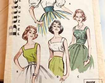 Misses quick n easy blouses. Butterick 9015