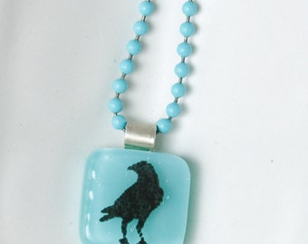 Crow Mini Necklace