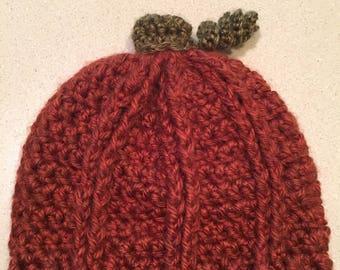 Newborn Pumpkin Crochet Hat