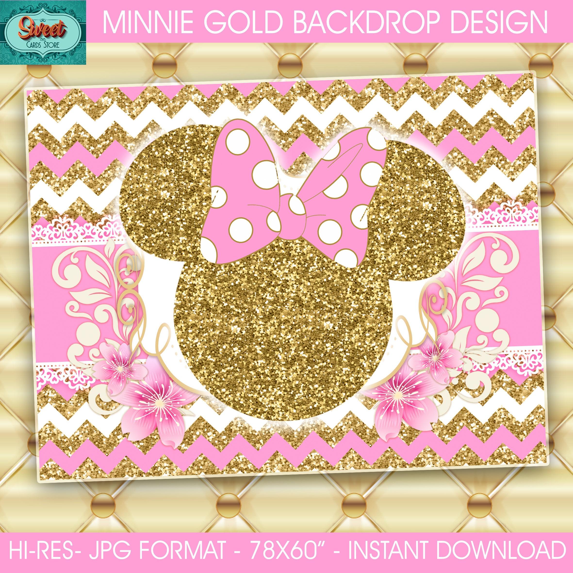 Dorable Minnie Mouse Birthday Wall Decor Model - Wall Art ...