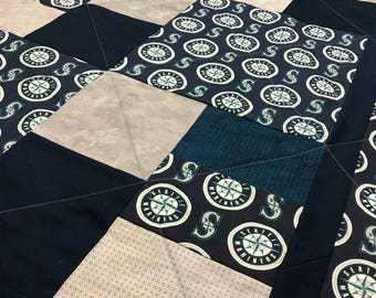 Seattle Mariners Quilt