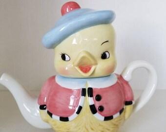 """Dept 56 """"So Tweet"""" Teapot"""