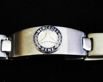 Mercedes Benz Stainless Steel Bracelet