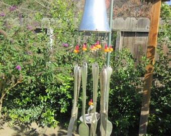 MOTHERS DAY SPECIAL - Antique Silverware Wind Chimes -