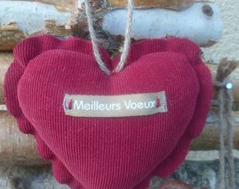 Best wishes Collection velvet heart