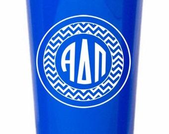 Alpha Delta Pi Monogrammed Giant Plastic Cup