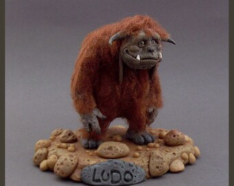 LUDO - The Labyrinth FanArt - Clay Sculpture