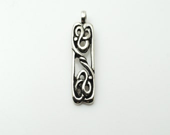 Crannogh Pendant in Sterling Silver