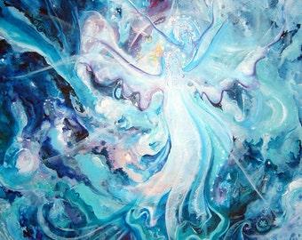 Galactic Guardians - original painting