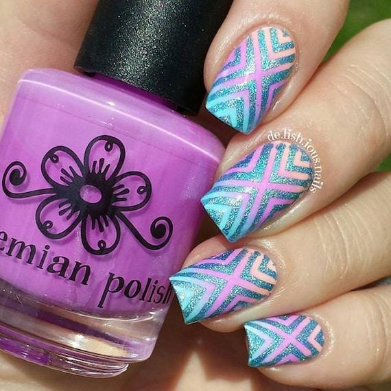 X-pattern stencils for nails nail stickers nail art nail