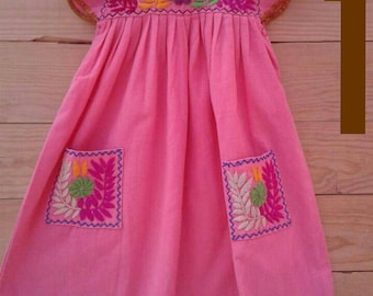 Beautiful hand embroidered dress size 3T