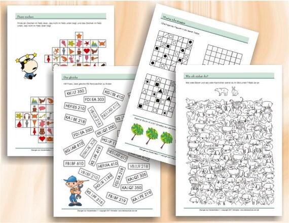 Übungen zur Konzentration Teil 1 Spielerische Förderung
