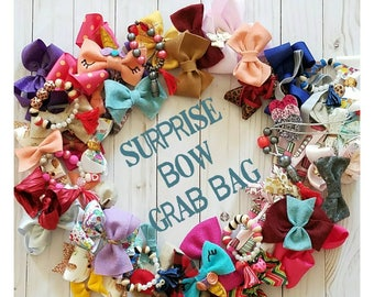 Grab bag || surprise grab bag, hairbow, grab bag, kids accessories grab bag