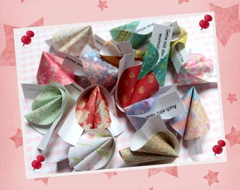 Wisdom - 10 piece paper fortune cookies