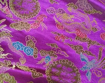 150 CM. The luxury embroidery (17) beautiful brocade fabric