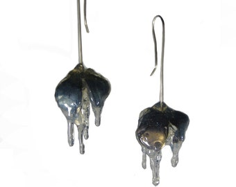 Shan Shan 6th series, titanium earring