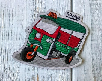 Travel patch: Thailand (Tuktuk taxi)