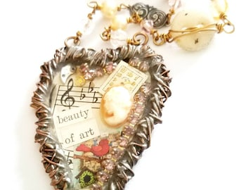 Beauty of Art Necklace
