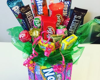 Spring Candy Bouquets