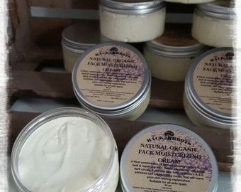 Natural Organic Face Moisturizing Cream