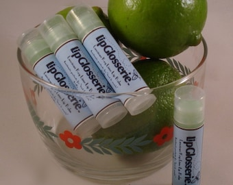 Key Lime Lip Balm - Vegan Handmade - Free Shipping