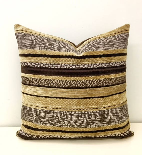 Beige Boho Pillow Cover Beige Pillow Rustic Pillow Ethnic