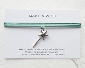 Wish bracelet, friendship bracelet, make a wish bracelet, W51