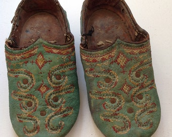 Old Vintage Afghanistan wedding shoes