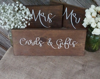 Cards and Gifts wedding sign. Cards and Gifts table sign. Wedding prop. Wedding sign. Wood sign. Cards and gifts wood sign. Wedding decor.