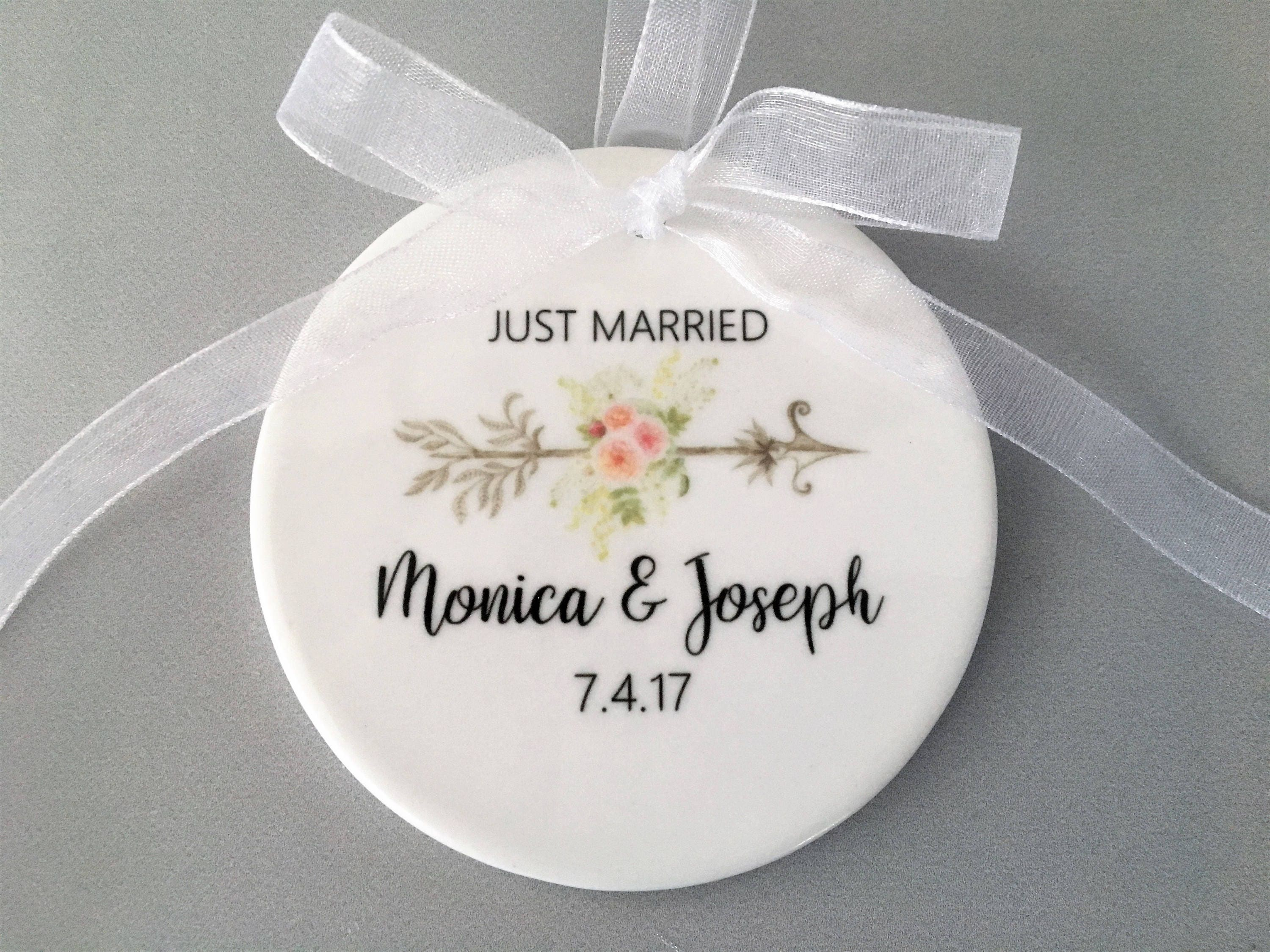 Personalized Wedding Ornament Wedding Ornament Wedding